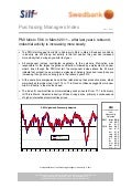 Purchasing Managers´Index Report, March 2011