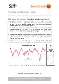 Purchasing Managers´Index Report, July 2011