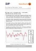 Purchasing Managers´Index Report, September 2011