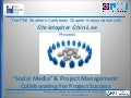 PMI SCC Social Medial & Project Management