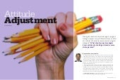 "Contribution to PMI article ""Attitude Adjustment"""