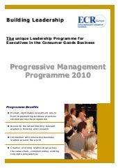 Progressive Management Program by E...