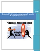 Suggested Performance Management Sy...