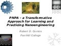 PNPA   a transformative approach to nanoengineering education