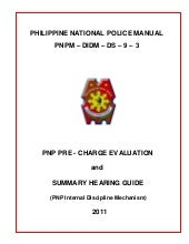 Pnp pre charge evaluation and summa...