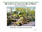 Water Efficient Landscape Design Ma...