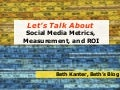 PodCamp: Let's Talk About Social Media Measurement