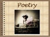 Poetry and figurative language 2012