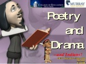 Poetry & Drama YA:  2003 version