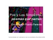 Poe y Los Simpsons: poemas que narran