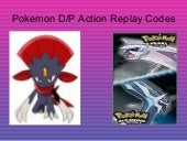 Pokemon Diamond/Pearl Action Replay...