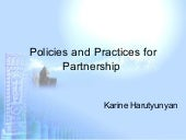 Policies and Practices for Partners...