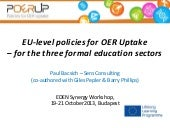 Policies for OER Uptake - presentat...