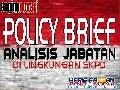 Policy Brief Analisis Jabatan (Haris Faozan 2013)