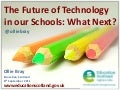 The Future of Technology in our Schools