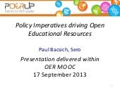 Policy imperatives driving open edu...