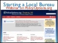 Starting a PolicyOptions Bureau - webinar slides 2/18/14