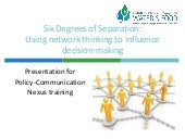 Six Degrees of Seperation: Using ne...