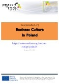 Polish business culture guide - Learn about Poland