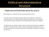 Political and administrative structure