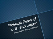 Political films of US and Japan