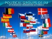 Political groups of eu