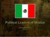 Political leaders of mexico