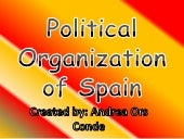 Political organisation of_spain[1]