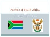 Politics of South Africa