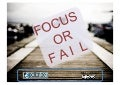 Focus or Fail: Why and How Startups Get Focused