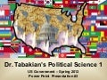 Political Science 1 - Introduction To Political Science - Power Point #3