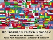 Political Science 2 – Comparative P...