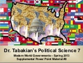 Political Science 7 – International...