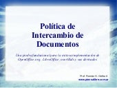 Política de intercambio de documentos