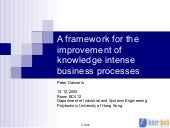 Knowledge management and business p...