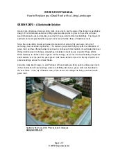 Pomegranate Center Green Roof Manual