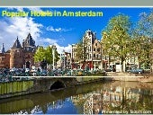 Popular hotels in Amsterdam