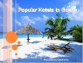 Popular Hotels in Goa