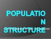 Population structure lesson4
