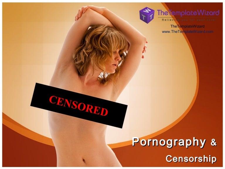 Censorship of pornography