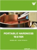 Portable Hardness Tester by ACMAS Technologies Pvt Ltd.