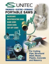 CS Unitec Portable Saws Catalog Pages