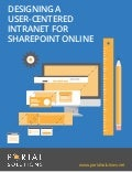 E-Book: Designing A User-Centered Intranet For SharePoint Online