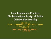 From Research to Practice: The Inst...