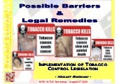 Possible Barriers and Legal Remedie...