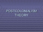 Postcolonialism by Jerry Slater for...