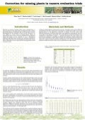 Poster13: Correction for missing plants in cassava evaluation trials