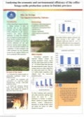 Analyzing the economic and enviromental efficiency of the coffee-forage-cattle production system in Daklak province