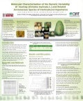 Molecular characterization of the genetic variability of soursop (Annona muricata L) and related Annonaceae species of horticultural importance