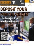 Deposit Your Poster of Presentation of ISCOMS2014 (F1000 & CMBUMCG)